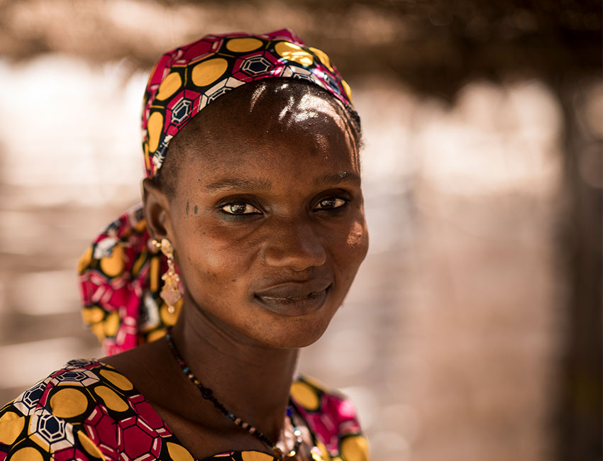 Hawa is a community health worker in Mali
