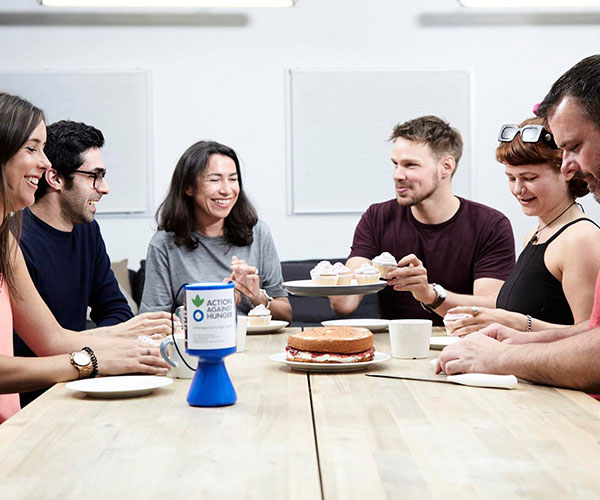 A coffee morning to fundraise for Action Against Hunger