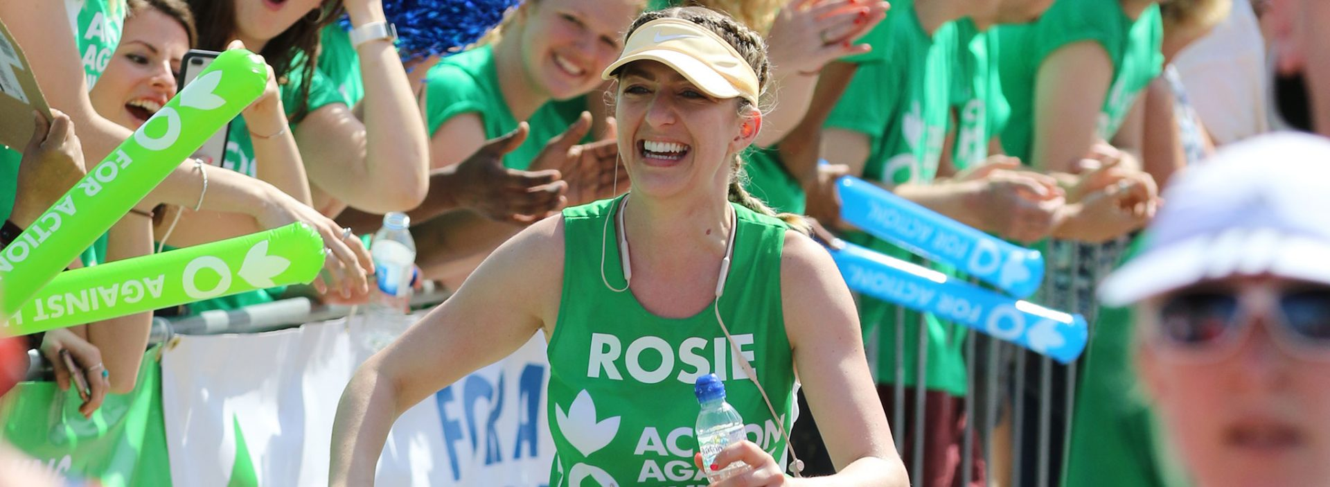 Action Against Hunger runner