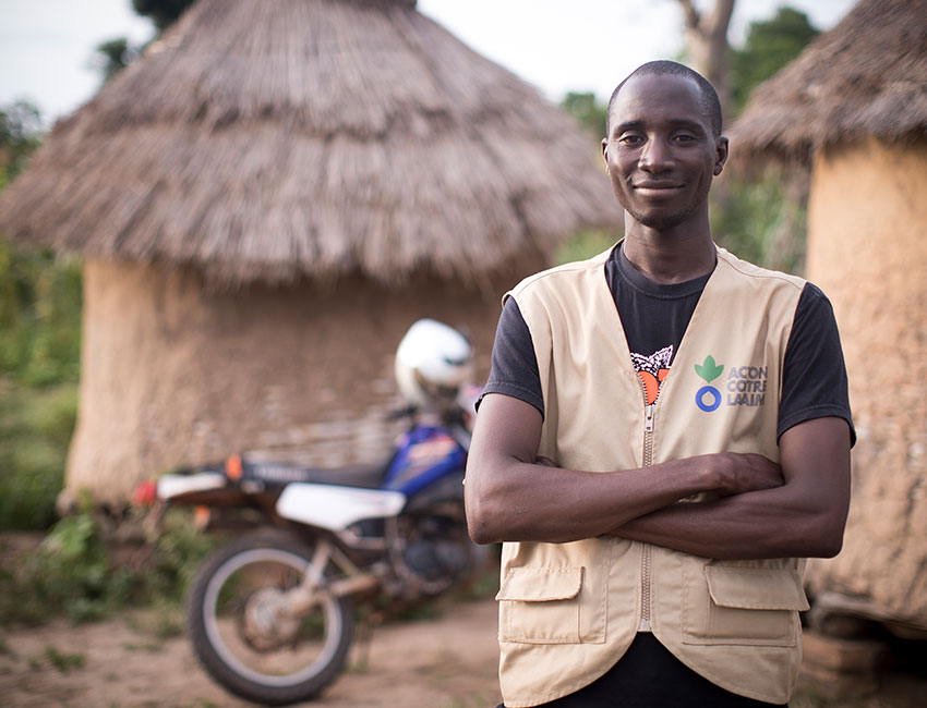 Ibrahim is a community health worker in Mali