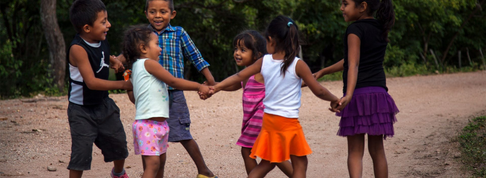 Children playing in Nicaragua