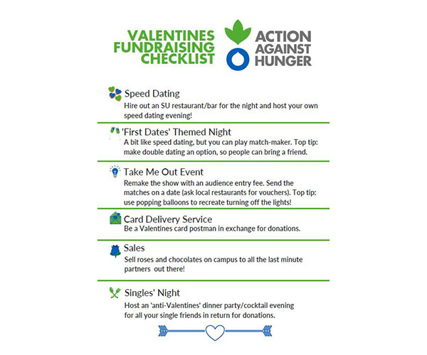 Valentines Day fundraising pack