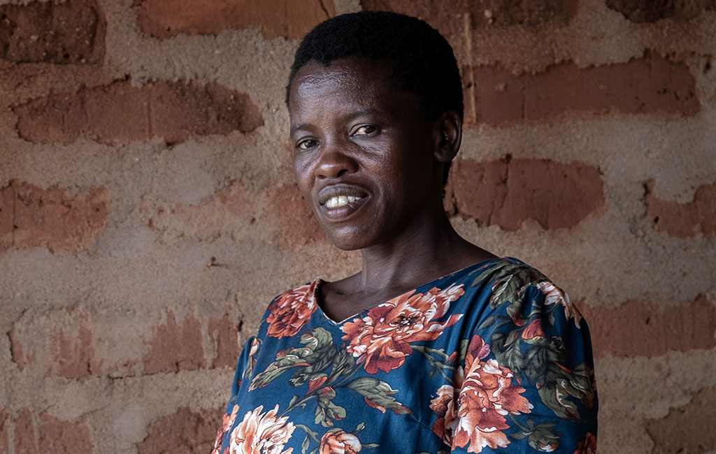 Yuster is a community health worker in Tanzania