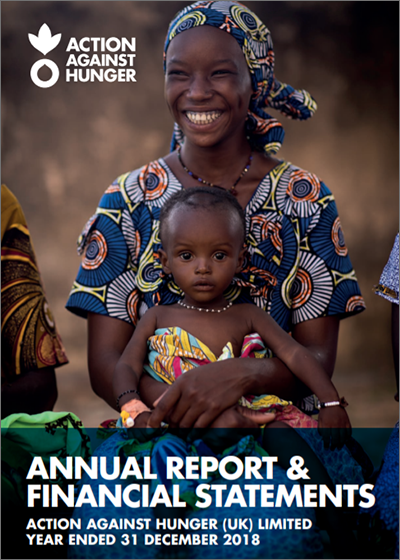 Action Against Hunger UK Annual Report and Financial Statements 2018