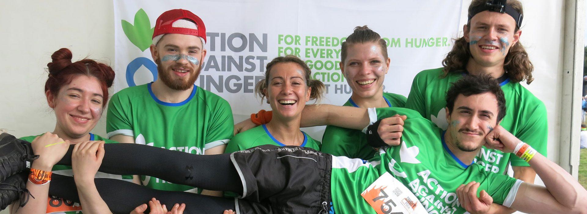 Action Against Hunger tough mudder team