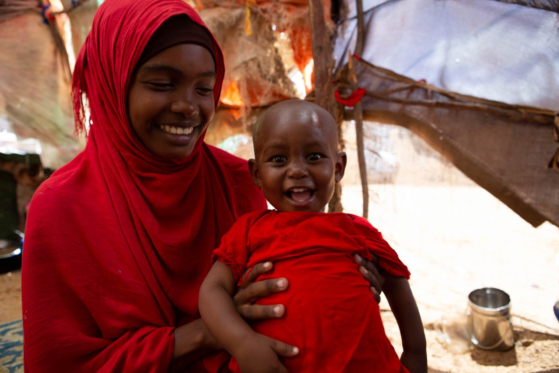 Halima after recovering from severe acute malnutrition.