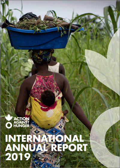 Action Against Hunger's International Annual Report 2019