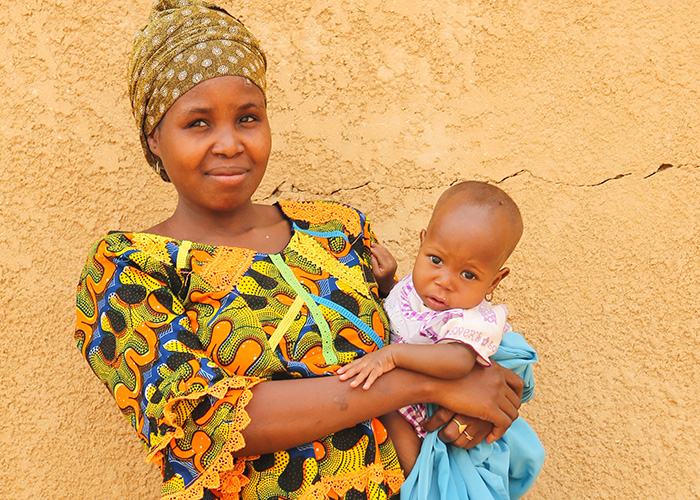 Souraya and her niece Bahara have been supported by Action Against Hunger in Niger.