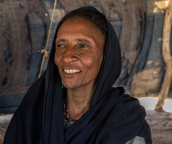 Fittiman, a woman supported by Action Against Hunger in Niger.