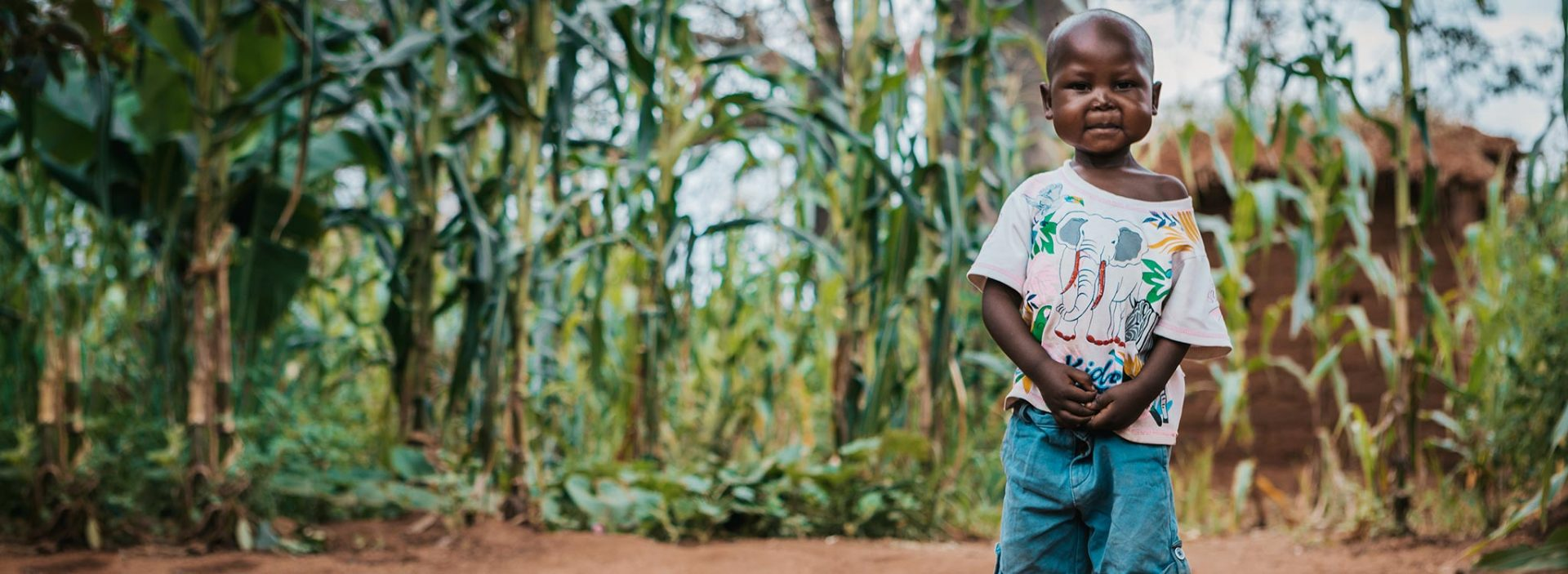 Four-year-old Rodrick was treated for malnutrition at an Action Against Hunger treatment centre in Tanzania.