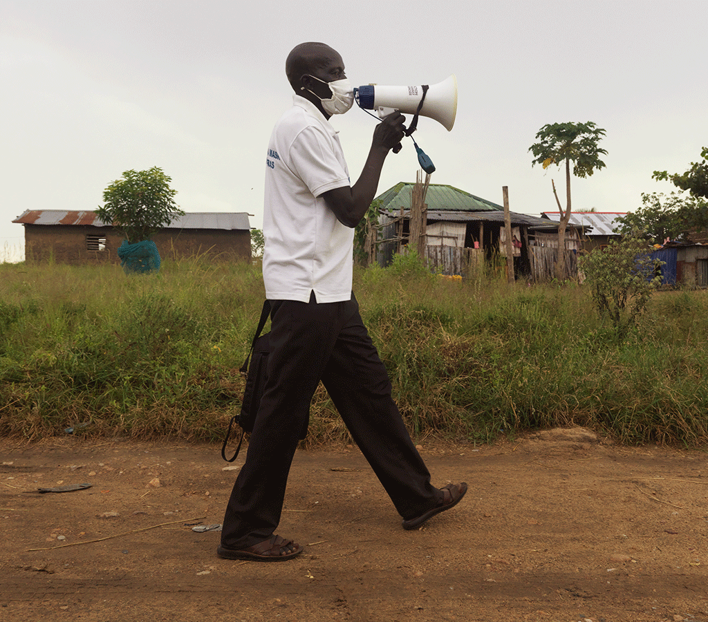 Tondrua is an Action Against Hunger volunteer in South Sudan
