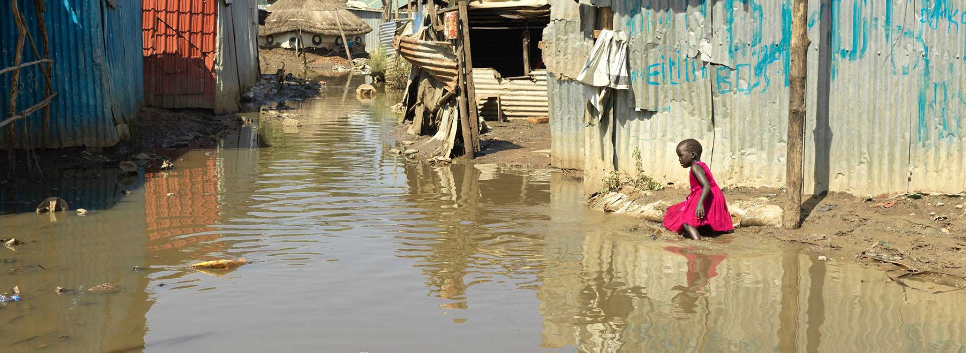 Flooding in South Sudan.