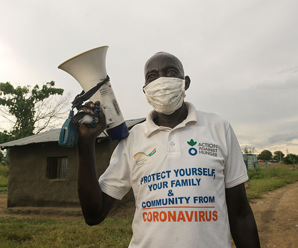 Tondrua is an Action Against Hunger volunteer in South Sudan.