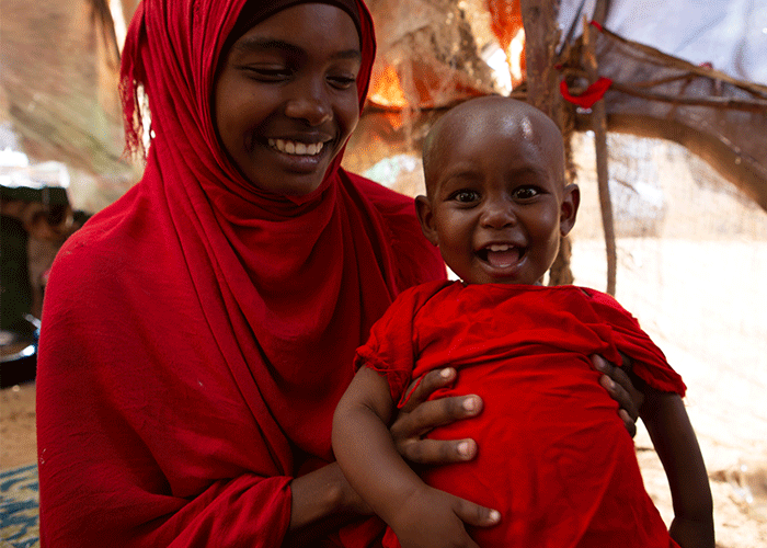 Action Against Hunger Somalia helped Halima recover from life-threatening malnutrition.