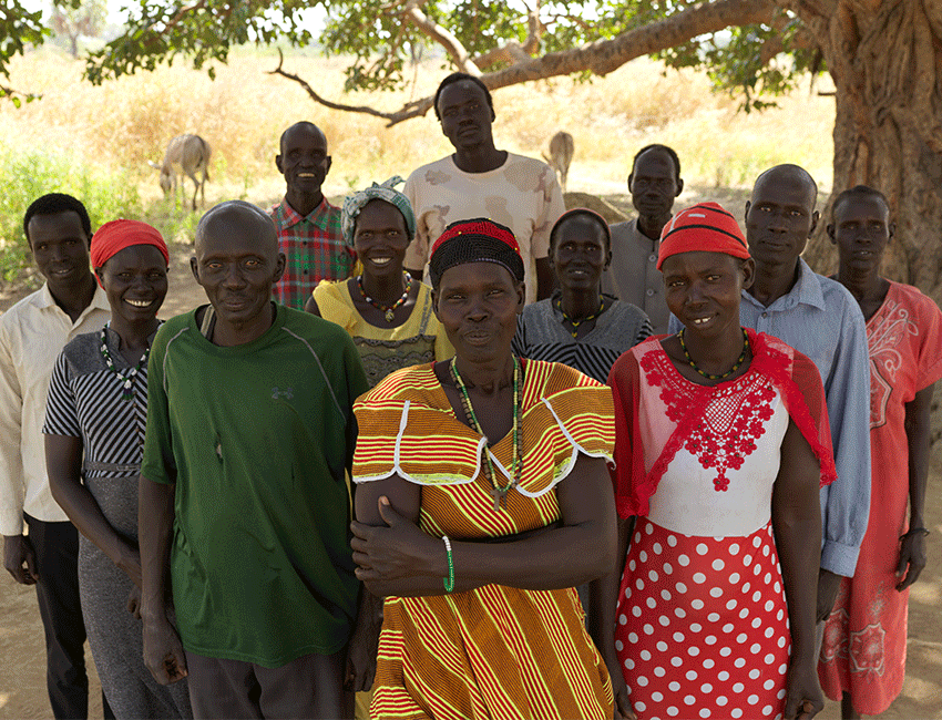 Nyanut Kuan is committed to providing clean water for her village in South Sudan.
