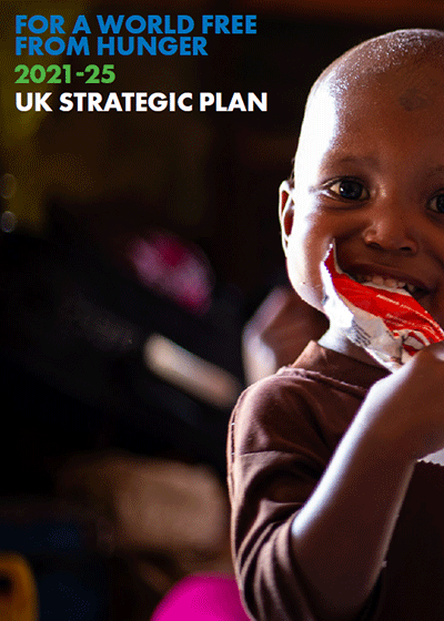 Action Against Hunger UK's Strategic Plan 2021-2025.