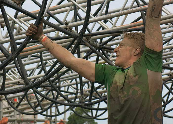 An Action Against Hunger fundraiser takes on Tough Mudder.