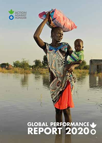 Cover of Action Against Hunger's Global Performance Report 2020.